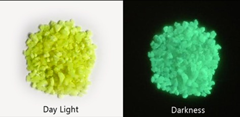 Strontium Aluminate Glow in the Dark Crystals