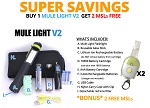 Mule Light V2 SUPER SAVINGS Combo
