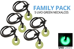 Family Pack - UVO Green Necklaces (5 qty)